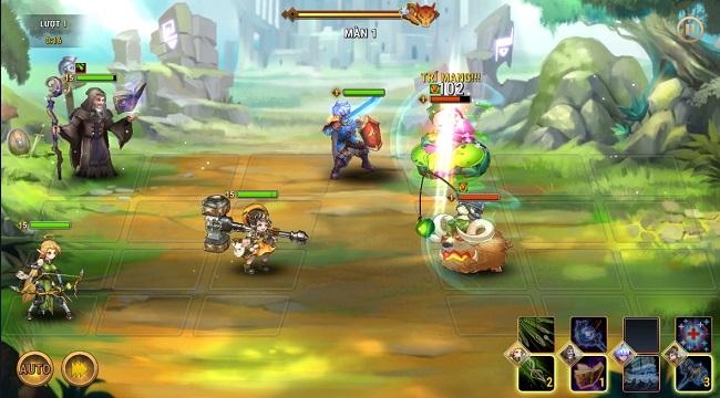 Fantasy League có đồ họa đẹp mắt và lối chơi thẻ tướng xu hướng mở