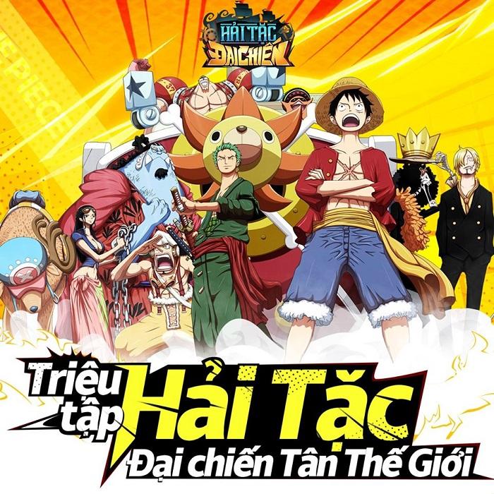 Hải Tặc Đại Chiến - Game đấu tướng rảnh tay đề tài One Piece cập bến Việt Nam 0