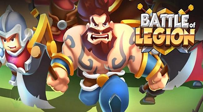 Battle of legion có lối chơi đơn giản, độc đáo và vô cùng thú vị