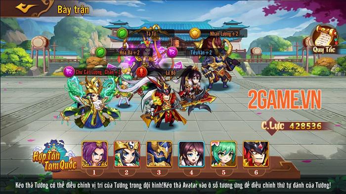Hợp Tân Tam Quốc - Game đấu tướng đồ họa chibi sắp ra mắt 1