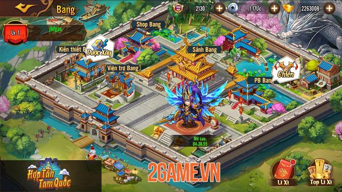 Hợp Tân Tam Quốc - Game đấu tướng đồ họa chibi sắp ra mắt 4