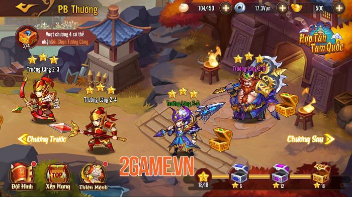 Hợp Tân Tam Quốc - Game đấu tướng đồ họa chibi sắp ra mắt 5