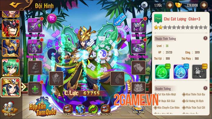 Hợp Tân Tam Quốc - Game đấu tướng đồ họa chibi sắp ra mắt 2