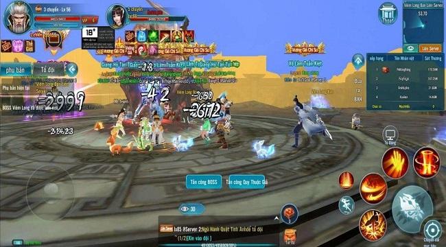 Game mobile Minh Triều Cẩm Y Vệ bùng nổ với phiên bản Big Update