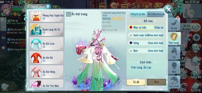 Big Update Nhất Kiếm Giang Hồ mang đến một kinh đô thời trang hoa lệ 1