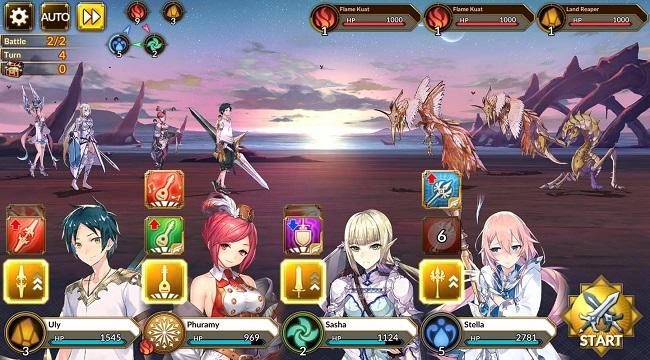 Idola Phantasy Star Saga – Game mobile nhập vai từ series Phantasy Star Saga