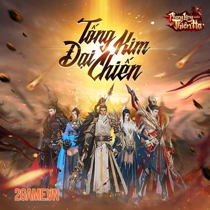 Gamota ra mắt fanpage game mới Phong Lăng Thiên Hạ Mobile 2