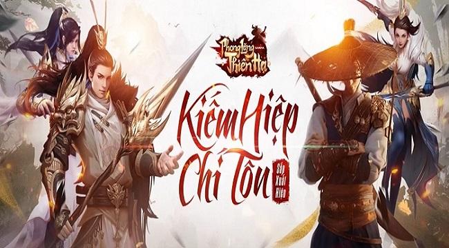Gamota ra mắt fanpage game mới Phong Lăng Thiên Hạ Mobile