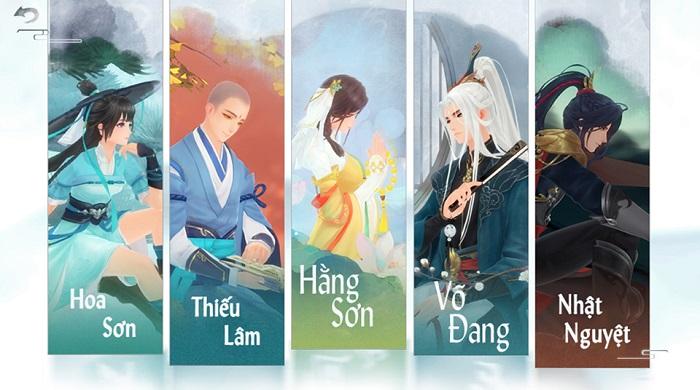 Game thủ Tân Tiếu Ngạo VNG sẽ thích mê các bộ võ học mô phỏng nguyên bản từ tiểu thuyết Kim Dung 2