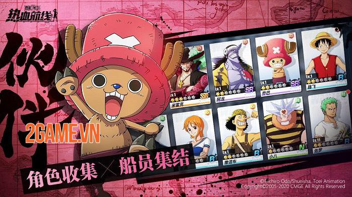 One Piece Fighting Path - Khám phá cuộc phiêu lưu đại hải trình vô cùng sống động 2