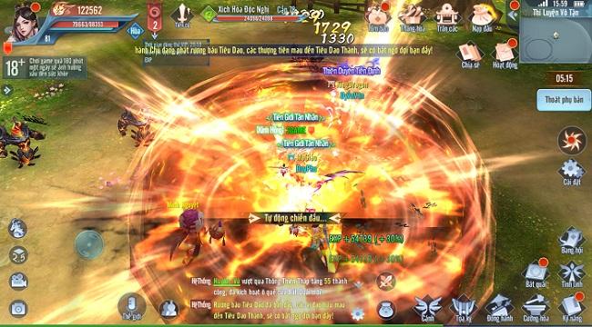 Tình Kiếp Tam Sinh Mobile sở hữu gameplay có tất cả những gì người chơi cần