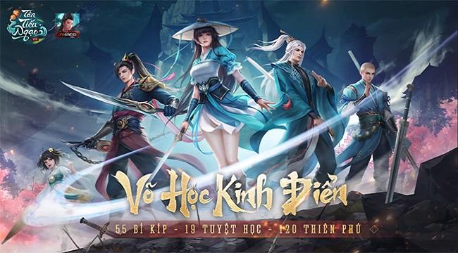 Game thủ Tân Tiếu Ngạo VNG sẽ thích mê các bộ võ học mô phỏng nguyên bản từ tiểu thuyết Kim Dung