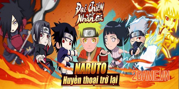 Đại Chiến Nhẫn Giả - Game mobile Naruto cày cuốc thả ga sắp ra mắt 0