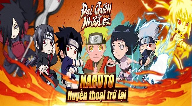 Đại Chiến Nhẫn Giả – Game mobile Naruto cày cuốc thả ga sắp ra mắt