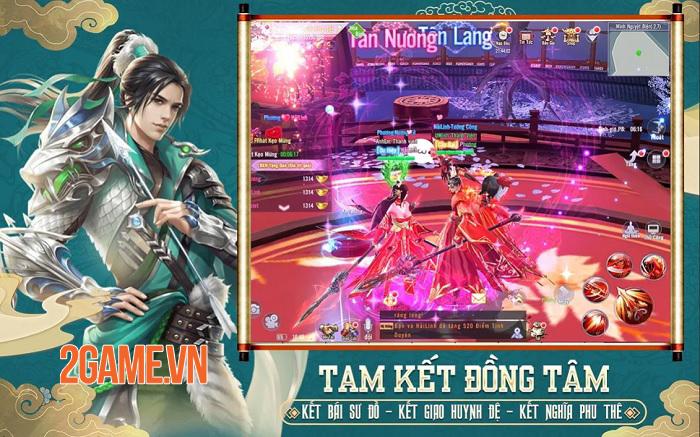 Thiên Ngoại Giang Hồ - Game nhập vai PK cả ngày săn Boss xuyên đêm sắp ra mắt 3