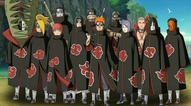 Tổ chức Akatsuki sẽ là tay chân đắc lực để bạn cày cuốc trong game Ninja Làng Lá