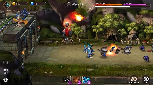 Guardians of Castle – RPG thủ tháp hardcore 3D chất lượng cao