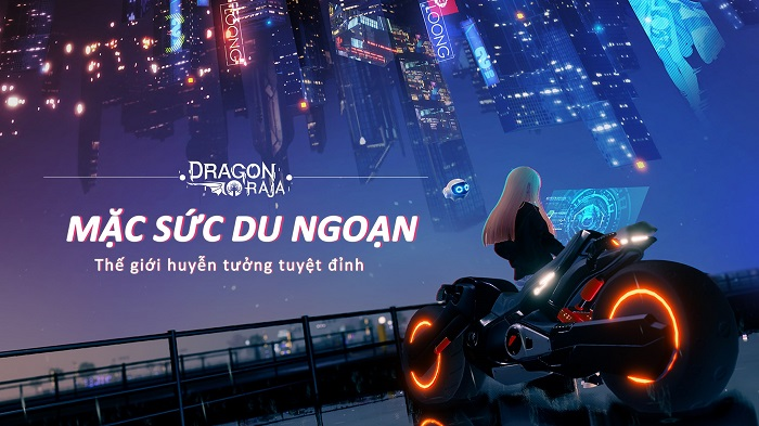 Dragon Raja thả nhẹ fanpage chính thức vào thị trường Việt Nam 1
