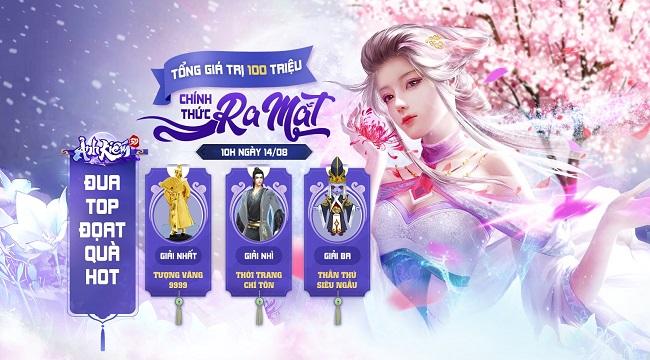 Tặng giftcode chung game Ảnh Kiếm 3D
