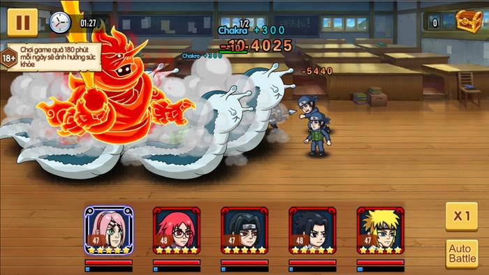 Đại Chiến Nhẫn Giả - Game mobile Naruto cày cuốc thả ga sắp ra mắt 1