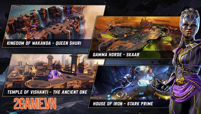 Marvel Realm of Champions - Một vũ trụ Marvel mới với những trận chiến khốc liệt 5