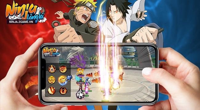 """Ninja Làng Lá Mobile bất ngờ tung cập nhật tính năng mới """"ngon hết sẩy"""""""