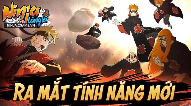 Đừng bỏ lỡ bản cập nhật nóng bỏng tay của Ninja Làng Lá ngay hôm nay