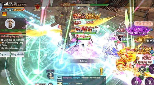 Ngạo Kiếm 3D đã chính thức cho lên sóng giải đấu Công Thành Chiến