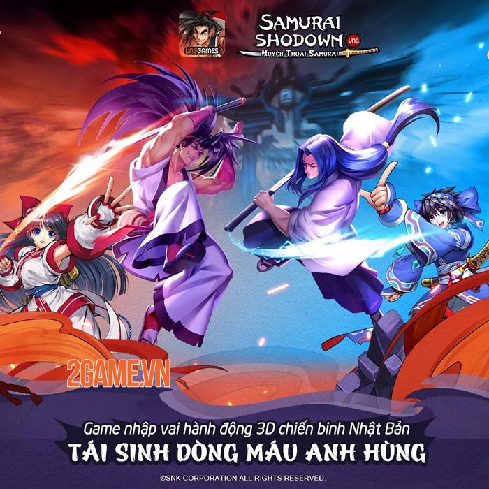 Samurai Shodown VNG thức tỉnh tinh thần võ sĩ đạo với các combo skills vô hạn 0