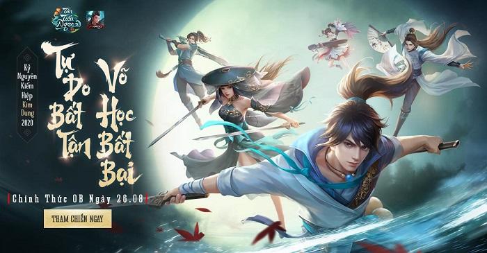 Tặng 400 giftcode game Tân Tiếu Ngạo VNG 1