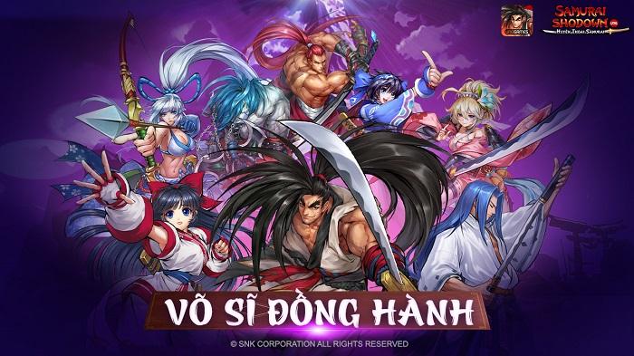 Samurai Shodown VNG đưa người chơi du hành về Nhật Bản cổ đại 3