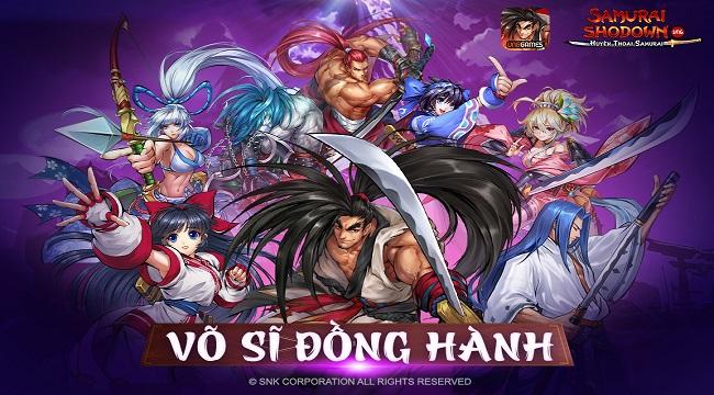 Samurai Shodown VNG đưa người chơi du hành về Nhật Bản cổ đại