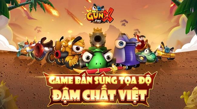 Game bắn súng tọa độ GunX:Fire tiết lộ những thông tin thú vị