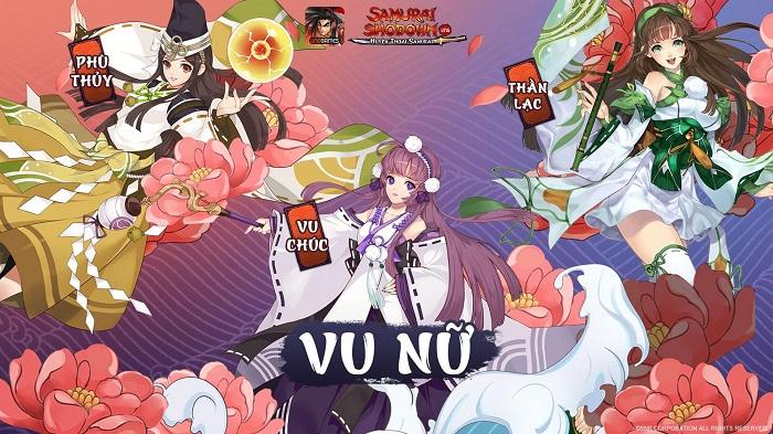 Mê mẩn trước các lớp nhân vật đậm nét Nhật Bản của Samurai Shodown VNG 2