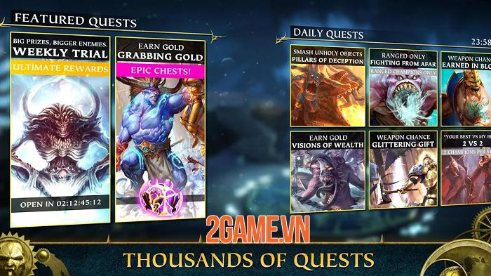 Thám hiểm thế giới thần thoại trong Warhammer Quest: Silver Tower 3