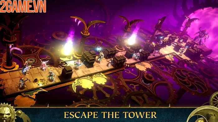 Thám hiểm thế giới thần thoại trong Warhammer Quest: Silver Tower 4