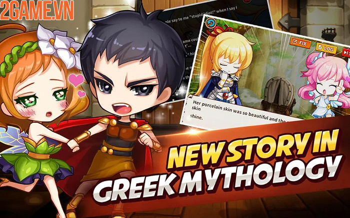 Gods Quest:The Shifters – Lạc vào thế giới thần thoại Hy Lạp cổ đại 2