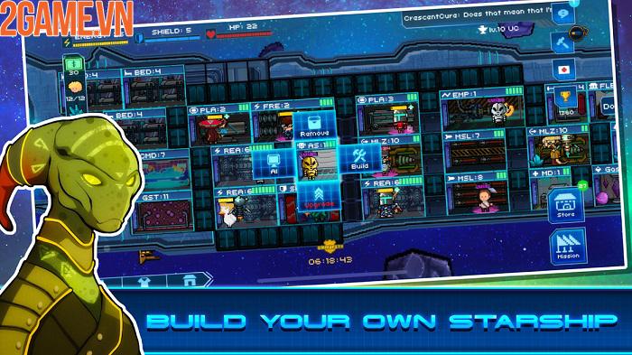 Pixel Starships mobile – khám phá các vì sao và chinh phục vũ trụ rộng lớn 1