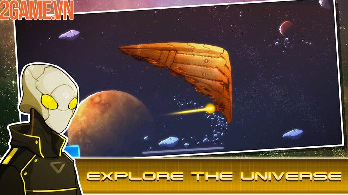 Pixel Starships mobile – khám phá các vì sao và chinh phục vũ trụ rộng lớn 3