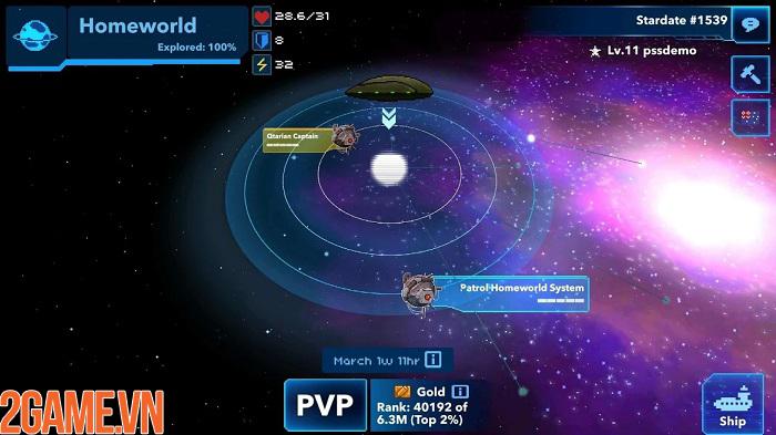 Pixel Starships mobile – khám phá các vì sao và chinh phục vũ trụ rộng lớn 0