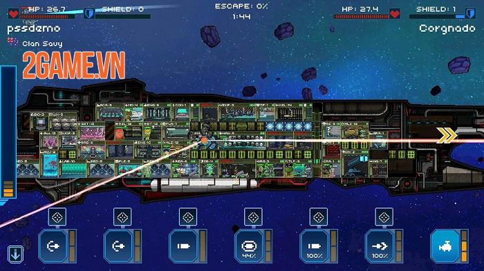 Pixel Starships mobile – khám phá các vì sao và chinh phục vũ trụ rộng lớn 4