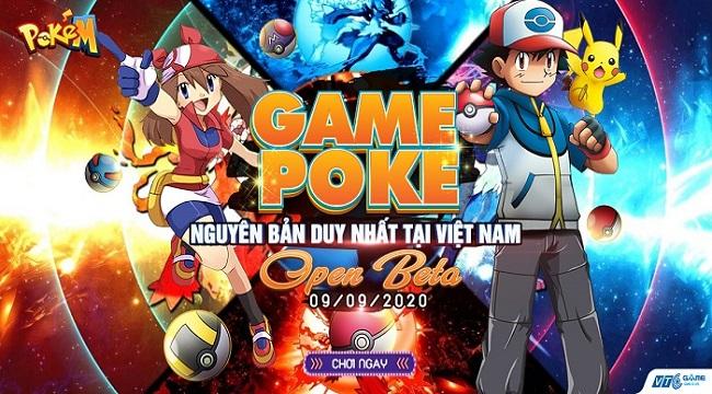 Tặng 300 giftcode game Poke M VTCGame
