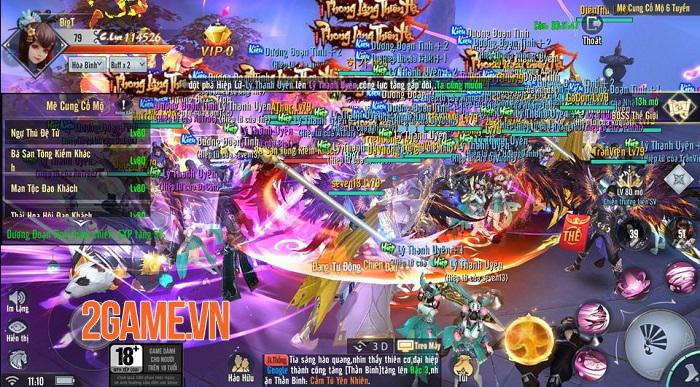 Cộng đồng người chơi Phong Lăng Thiên Hạ sôi nổi tham gia Open Beta 2