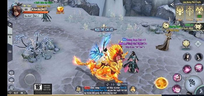 Cộng đồng người chơi Phong Lăng Thiên Hạ sôi nổi tham gia Open Beta 4