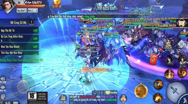 Cộng đồng người chơi Phong Lăng Thiên Hạ sôi nổi tham gia Open Beta
