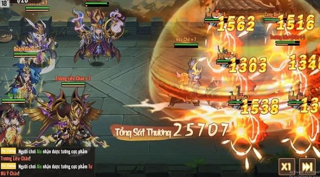 Tặng 500 giftcode game Võ Thần Tam Quốc