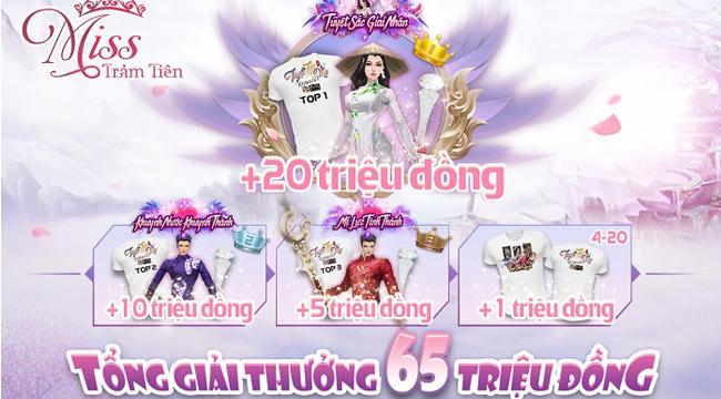 Trảm Tiên Quyết công bố 20 gương mặt Miss Trảm Tiên tài sắc vẹn toàn