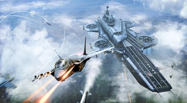 Sky Combat – điều khiển chiến cơ tung hoành trên bầu trời xanh vĩ đại