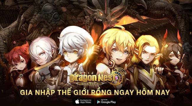 World of Dragon Nest mở đăng ký trước cho game thủ Việt kể từ hôm nay