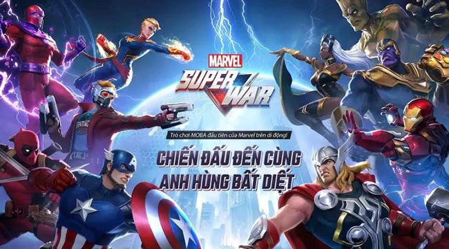 MARVEL Super War VN mở đăng kí trước tại Việt Nam, được phát hành thông qua Funtap